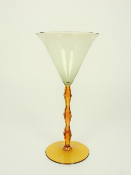 Weinglas von L. Moser in Karlsbad, um 1926.