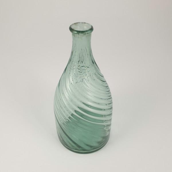 Flasche, waldgrün. 18./19.Jh.
