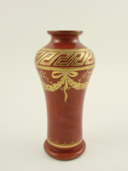 Vase aus marmoriertem Steinglas. Russland, St. Petersburg um 1855.