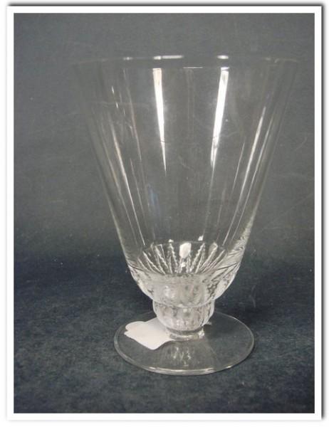 """Wein-, Wasserglas, signiert """"Cristal LALIQUE France""""."""