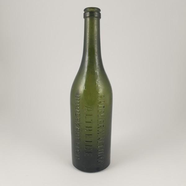 Alte Mineralwasserflasche ALTHEIDE / Schlesien.