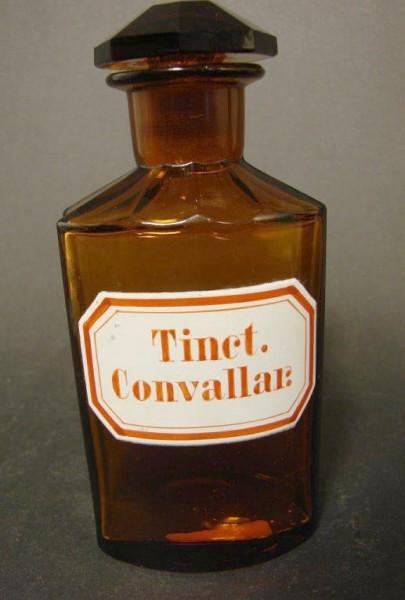 Apothekenflasche Tinct. Convallar.