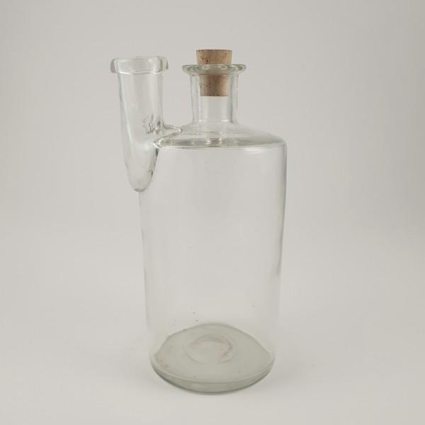 Apothekengefäß / Laborgefäß mit Abriß, 19.Jh.