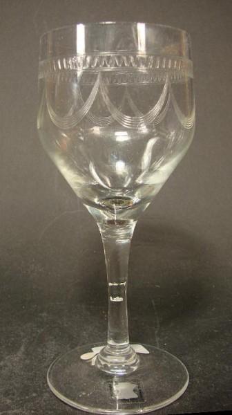 Jugendstil Weinglas DESSAU VLG, ca.1930