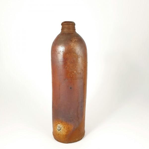"""Mineralwasserflasche """"VIKTORIA FELSENQUELLE"""", 18./19.Jh. Steinzeug / Keramik."""