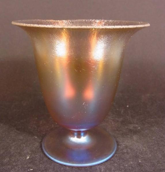 Art Deco - WMF Myra-Kristall Vase, 1930er Jahre.