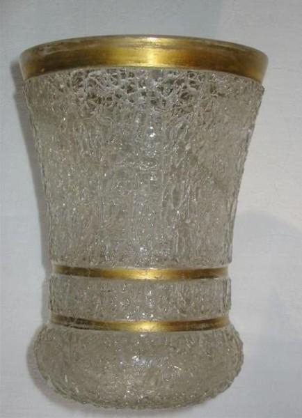 Biedermeier - Becherglas. Eisglas. Böhmen, um 1850.