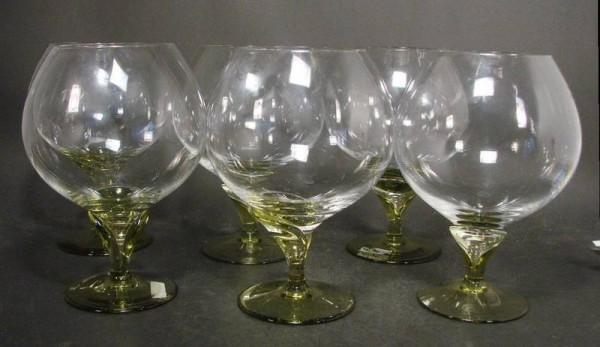 6 Rosenthal Cognacgläser PAPYRUS.