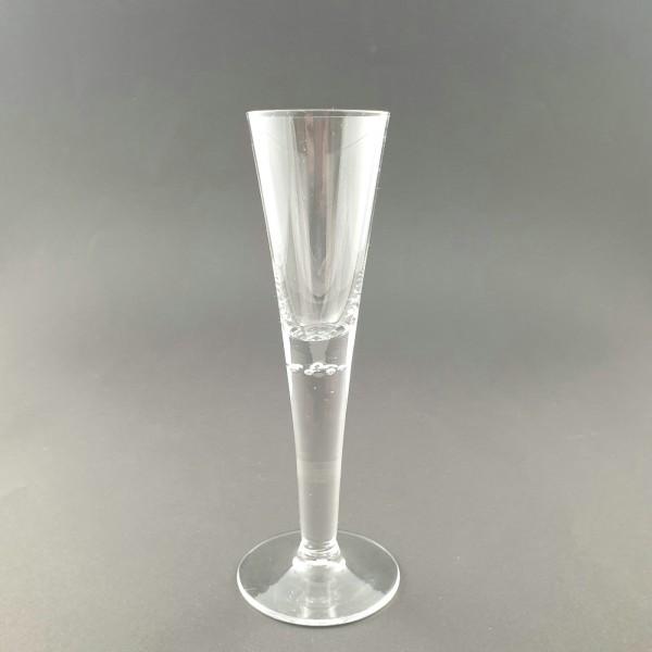 Sektglas. Josephinenhütte, um 1900.