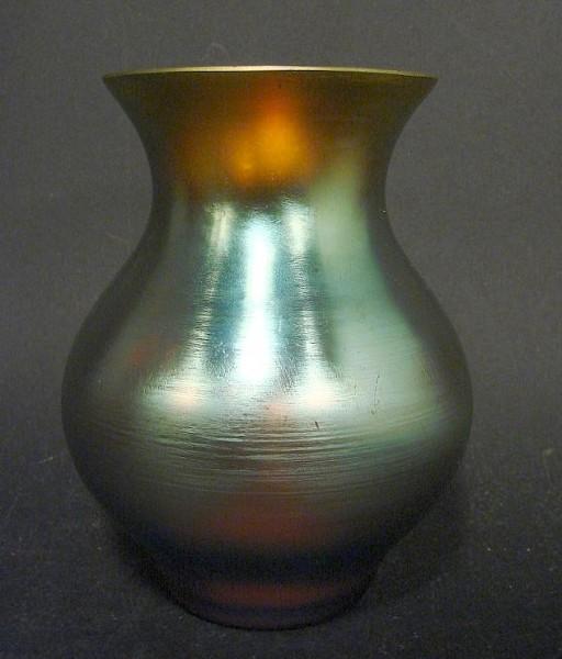 Art Deco - kleine Vase. WMF Myra Kristall, 1930er Jahre.