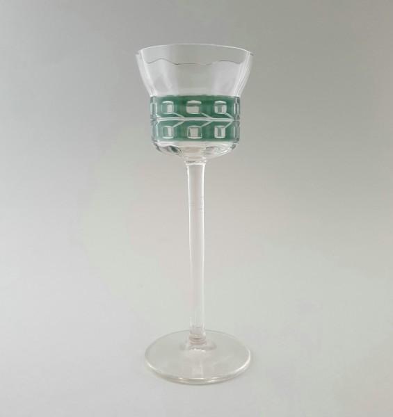 Weinglas / Stängelglas, wohl Meyr's Neffe, Adolf, um 1910.