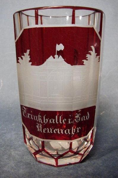 Ansichten-, Brunnenbecher BAD NEUENAHR, 19.Jh.